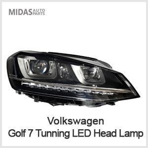 Golf 7 Tunning LED Head Lamp